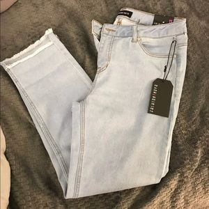 Denim - Cute Fringe Fashion Nova Jeans size 11
